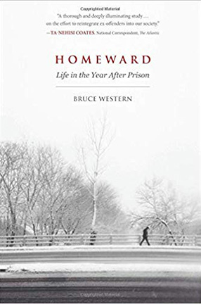 Homeward: Life in the Year After Prison By Bruce Western, book cover