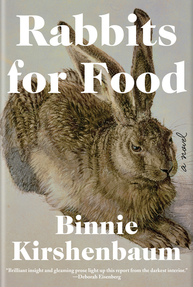 The cover of Rabbits for Food by Binnie Kirshenbaum