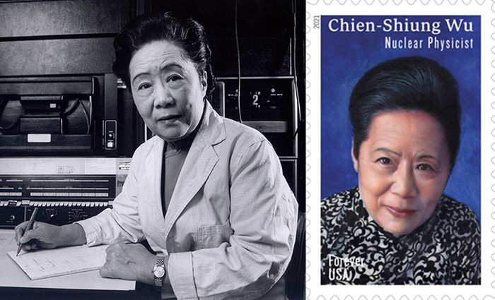 Chien-Shiung Wu and her U.S. Postal stamp