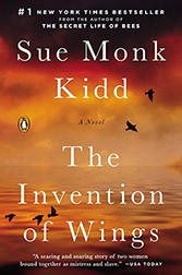 Book cover of The Invention of Wings by Sue Monk Kidd