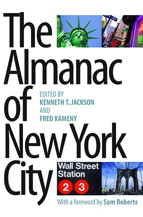 book cover of New York landmarks