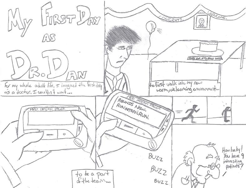 Dr. Benjamin Schwartz, Cartoonist, Draws on Medical
