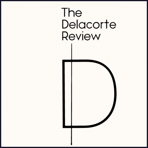 "Logo for Columbia Journalism's ""The Delacorte Review"""