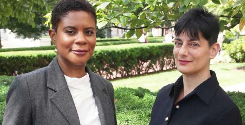 Alondra Nelson and Sharon Marcus