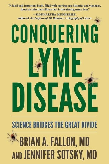 Book cover of Conquering Lyme Disease