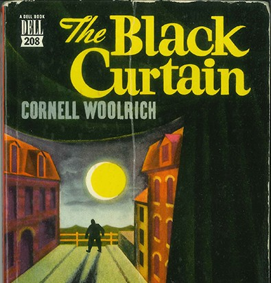 'The Black Curtain' book cover.