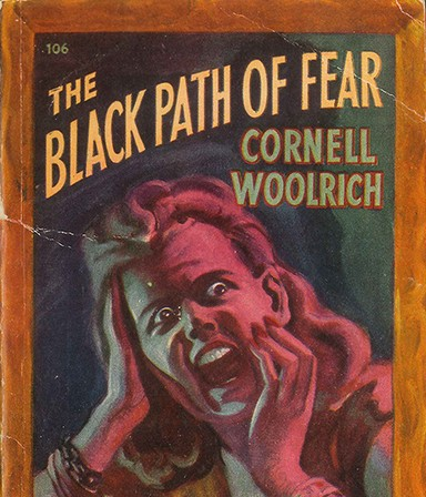 """The Black Path of Fear"" book cover."