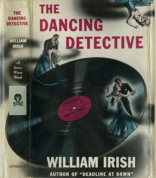 "'The Dancing Detective' record contains eight short stories, beginning with the title story that had been published as ""Dime a Dance"" in Black Mask, February 1938."