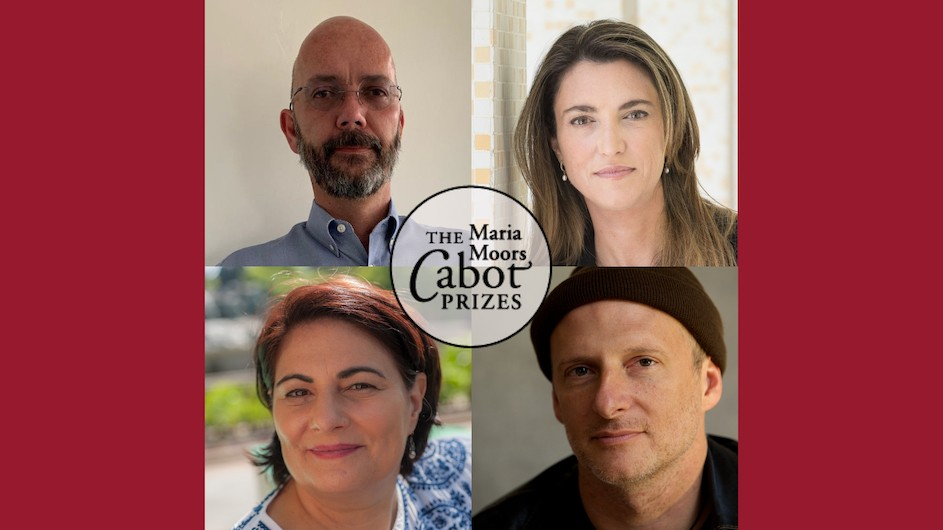 Winners of the 2020 Cabot Award prize