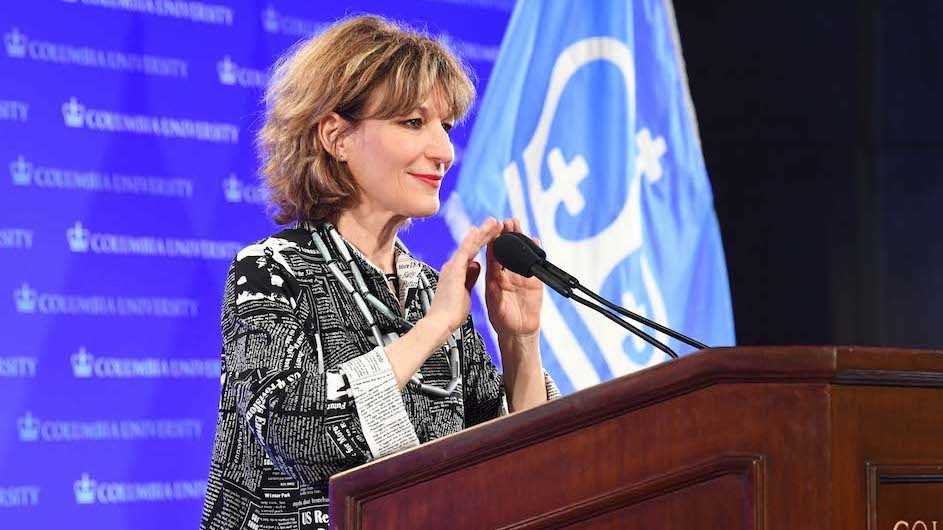 Agnes Callamard, director of Columbia Global Freedom of Expression and a U.N. special rapporteur, is a co-editor of Regardless of Frontiers.